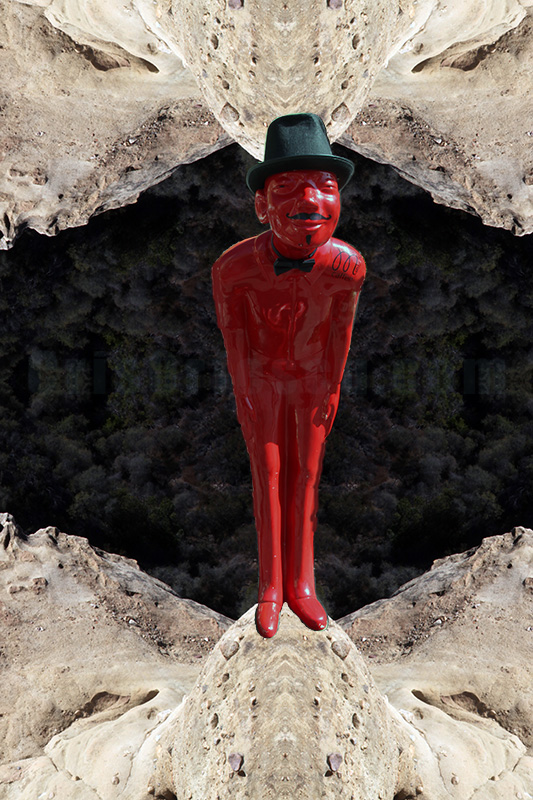 The Little Red Man from Moon