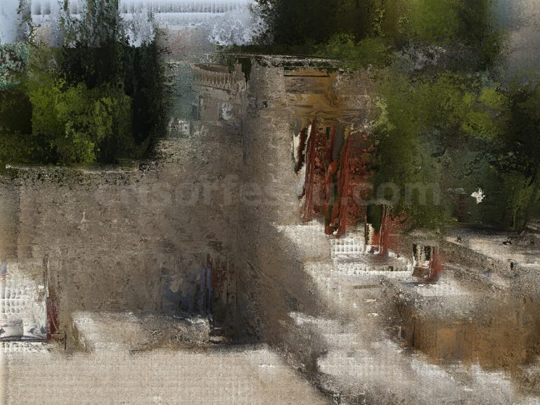 Pallace-of-Knossos-Crete-Greece-impressionist-photography-digital-print-impressionism-art-giclee