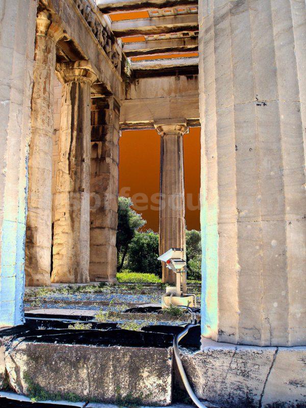temple-of-hefaistos-impressionist-photography-digital-print-impressionism-art-giclee